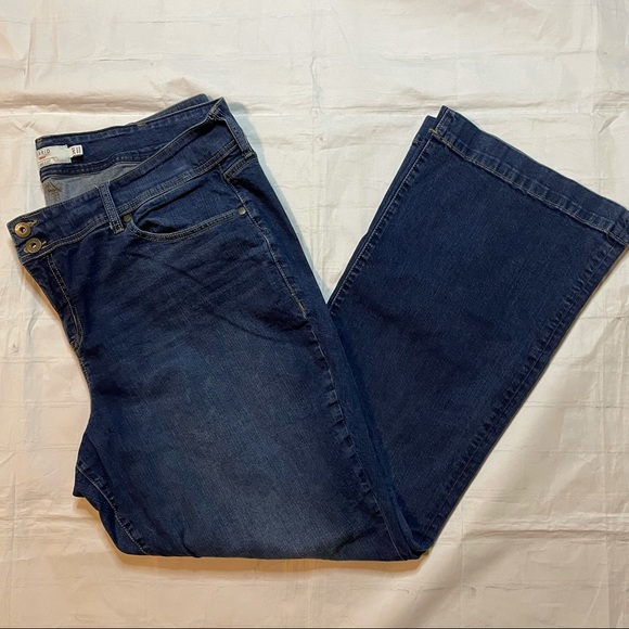 Torrid Denim Bootcut Jeans Blue Size 24 TALL